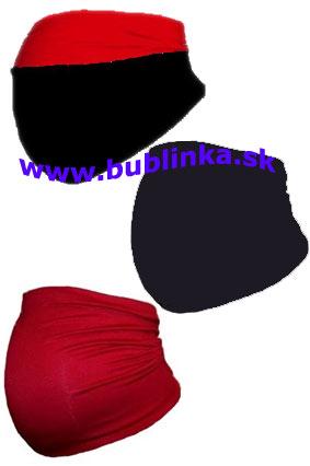 Dvojfarebný tehotenský pás