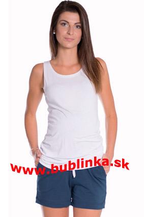 Tehotenské krátke nohavice - na objednávku