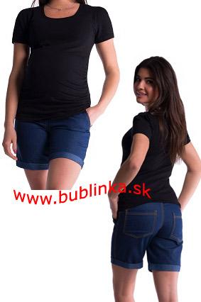 Tehotenské krátke nohavice. Skladom M,L,XL