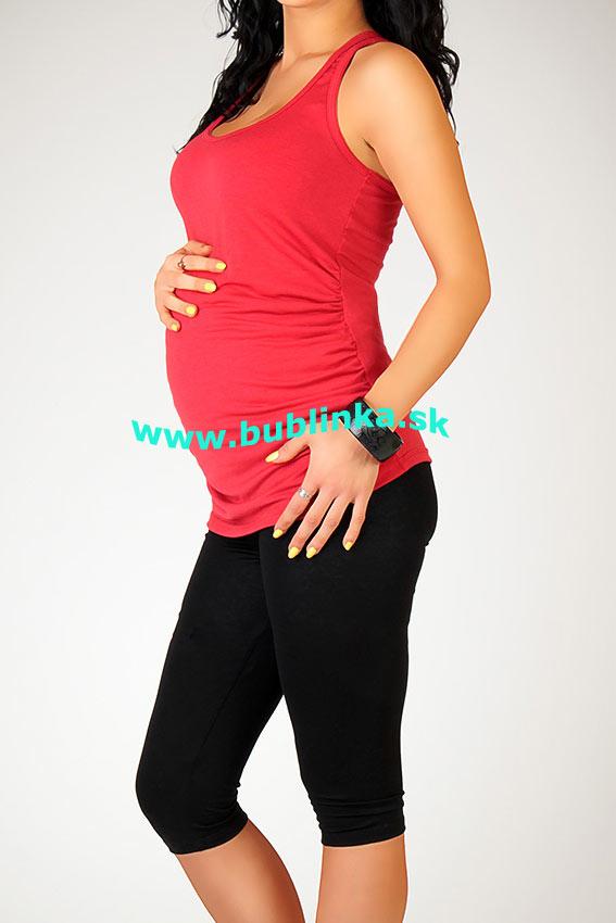 Tehotenské tielko s riasením b184d903cd