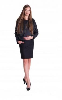 Športová tehotenská sukňa, čierna. Skladom veľ.L